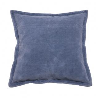 Walra Zierkissen / Dekokissen Flinn 45 x 45 cm Blau mit RV