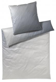 JOOP! Mako-Satin Bettwäsche Diamond 4085-7 stone 100% Baumwolle exklusiv modern - Vorschau 1