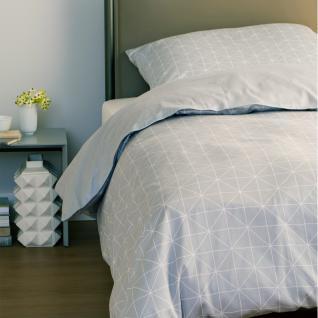 Schöner Wohnen Bettwäsche Grid | 10 grau