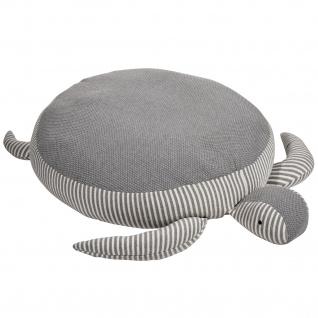 pad Sitzkissen Turtle grey rund Ø 70 cm aus 100% Baumwolle