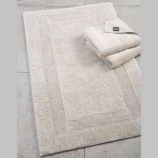 Cawö Home Wende-Badteppich 1000-366 Farbe Travertin-beige in drei Größen