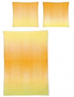 Irisette Mako-Satin Bettwäsche 8491-50 gelb