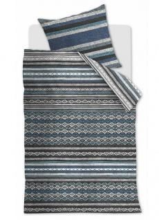 Beddinghouse Brushed Twill Bettwäsche Pendleton Blue Gewebeoptik 100 % Baumwolle