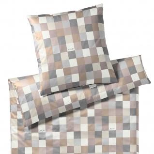 JOOP! Mako-Satin Bettwäsche Mosaik 4092-7 Sand Geometrisch modern - Vorschau 2