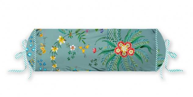 PIP Studio Nackenrolle Petites Fleurs Blue 22 x 70 cm Blumenmuster