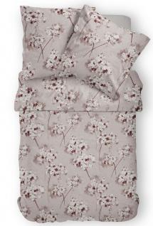 Janine Mako-Satin Bettwäsche Messina mandel 43074-07 aus 100% Baumwolle - Vorschau 2