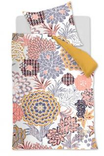 Oilily Baumwollsatin Bettwäsche Layered Bloom Multi geblümt 100 % Baumwolle
