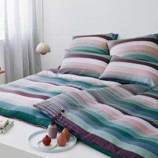 elegante Mako-Satin Bettwäsche 2306-01 Change rouge aus 100% Baumwolle