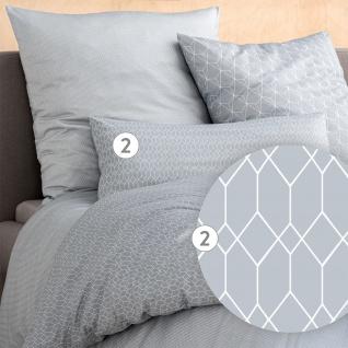 Estella Mako-Interlock-Jersey Bettwäsche Atelier SILAS silber 100% Baumwolle