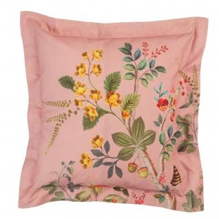PIP Studio Perkal Dekokissen Zierkissen Wild and Tree 45 x 45 cm Pink Motiv