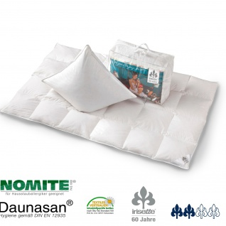 Irisette Daunen-Bettenset Diamant Decke+Kissen+Soffakissen