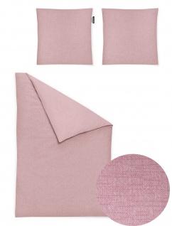 Irisette Mako-Satin Bettwäsche Carla 8253-60 rosa 100% Baumwolle