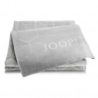 JOOP! Vision Wohndecke Graphit-Rauch 150 cm x 200 cm Baumwollmischung