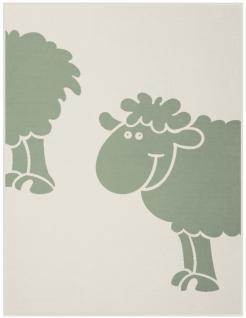 Biederlack Bocasa Bio Cotton Kids, Baby Kuscheldecke Schaf, 75x100 cm