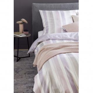 Schöner Wohnen Bettwäsche MILLIE 7717-075 Beige-Rosa 100% Baumwolle Pastell Farbverlauf