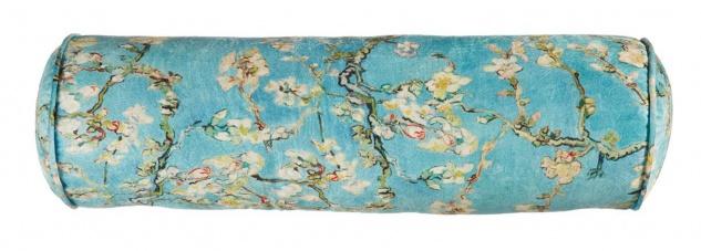 Beddinghouse Kissen Nackenrolle van Gogh Fleurir 65 x 20 cm blue florales Motiv