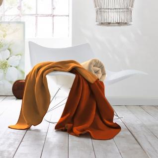 Biederlack Decke Duo Cotton Trend 150 x 200 cm rotfuchs