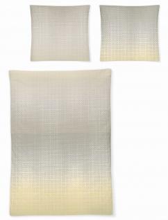 Irisette Mako-Satin Bettwäsche 8491-80 beige
