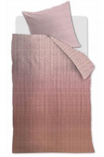 Beddinghouse Bettwäsche Marmore Terra Blockmuster aus 100 % Baumwolle