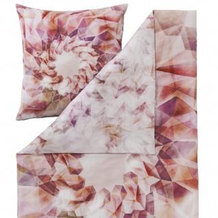 Estella Mako-Satin Bettwäsche Helix 4736-985 multicolor 100% Baumwolle modern - Vorschau 3