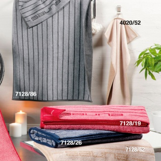 Ross Wellnesstuch / Saunatuch Frottee 7128 gestreift 80 x 200 cm 100% Baumwolle