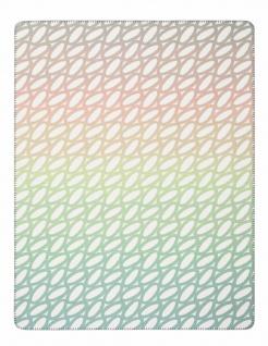 Biederlack Wohndecke Loop 150 x 200 cm Baumwollmischung Pastelltöne modern