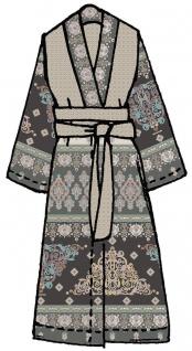 Bassetti Granfoulard Kimono MOUASSINE V7 grau