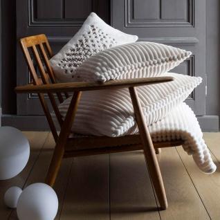 Winkler Kissenhülle Minos 45 x 45 cm Felloptik Streifen Muster 100% Polyester