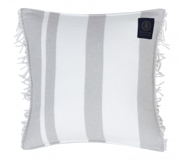 Grand Design Kissenhülle POCOMO STRIPE, grey 48x48 cm