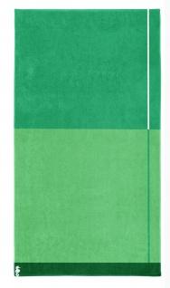 Seahorse Block - Strandlaken - 100 x 180 cm - grün 100% Baumwolle