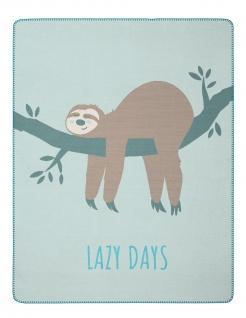 Biederlack Decke Kids & Teens Lazy Days 150 x 200 cm aus Baumwollmischung