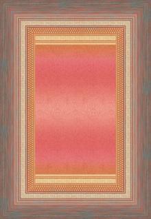 Bassetti Plaid Wohndecke Nabucco P1 rosa 135 x 190 cm Ornamente