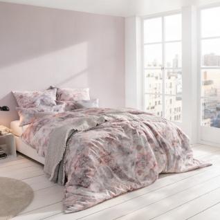 Estella Atelier Mako-Satin Bettwäsche Adam 7378 -070 Rosenholz 100% Baumwolle