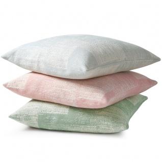 Biederlack Kissenhülle Soft 50 x 50 cm mit RV aus Baumwollmischung