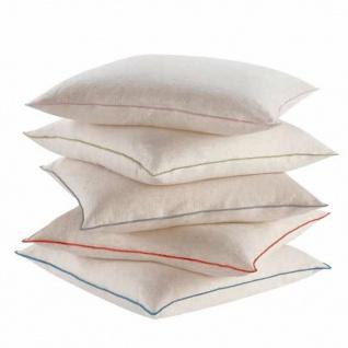 Biederlack Kissenhülle Leinen 50 x 50 cm mit RV aus Baumwollmischung