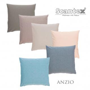 Scantex Kissenhülle Anzio 40 x 40 cm 100% Baumwolle mit RV