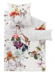 Estella Mako Satin Wende - Bettwäsche Fauna 7291-985 multicolor 100% Baumwolle