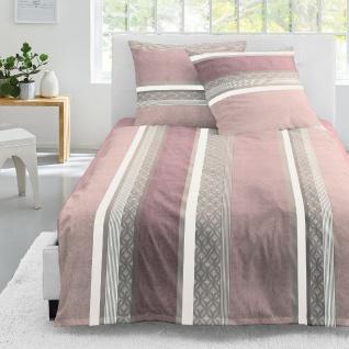 Irisette Jersey Bettwäsche Luna 8060-60 Streifenverlauf-Muster 100% Baumwolle