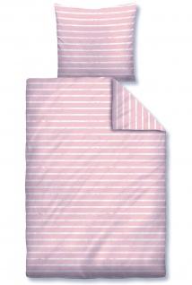 Biberna Bettwäsche 44744-111 Linon rose