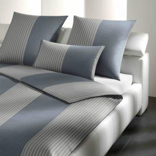 JOOP! Bettwäsche Double Stripes 4054-9 silber