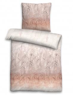 Biberna Fein-Biber Bettwäsche Wiesengräser 3624-570 basalt aus 100 % Baumwolle - Vorschau 1
