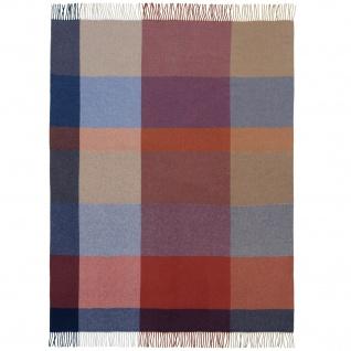 Biederlack Wolle-Kaschmir Plaid Pleasant 130 x 170 cm Karo Muster 747228