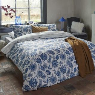 WALRA Bettwäsche Blue Memories 100% Baumwolle