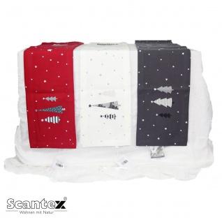 Scantex Tischband Christmas 20 x 200 cm in drei Farben 100% Baumwolle