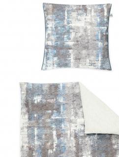 Irisette Mako-Satin Bettwäsche 8861-20 blau - Vorschau 3