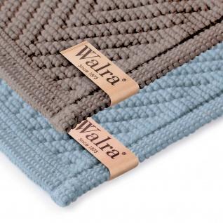 Walra Badematte Soft-Cotton 60 x 100 cm einfarbig 100% Baumwolle in zwei Farben