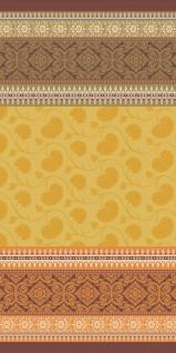 Bassetti Strandtuch Otello I1 gelb 90 x 180 cm Paisleymuster