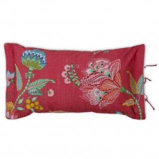 PIP Studio Dekokissen Kissen Zierkissen Jambo Flower red 35 x 60 cm Blumenmotiv