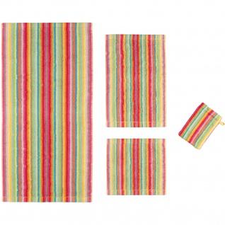 Cawö Home Handtuch Life Style Streifen 7008 Multicolor - 25 Frotte bunt modern