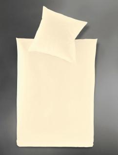 Irisette Mako-Satin-Bettwäsche Paris 8000 Farbe 80-natur uni 100 % Baumwolle